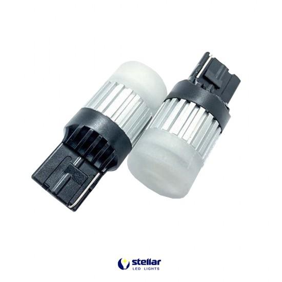 LED автолампа D60 STELLAR цоколь W21W/7440 CAN BUS белый (1 шт.)