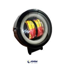 Универсальная дополнительная противотуманная LED фара 20R + ДХО (1 шт.)
