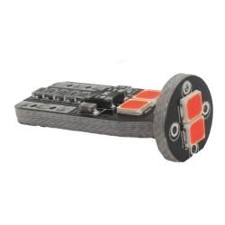 LED автолампа 3G6 STELLAR цоколь T10/W5W CAN BUS красный (1 шт.)