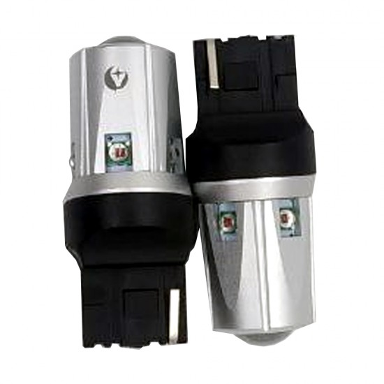 LED автолампа S30 STELLAR цоколь W21W/7440 CAN BUS красный (1 шт.)