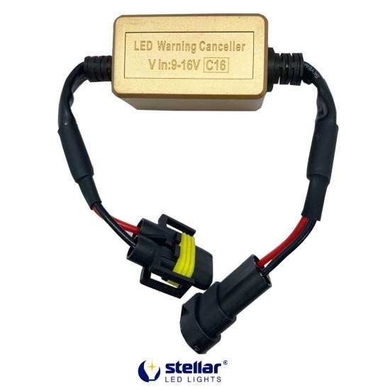"""LED """"обманки"""" STELLAR C16 цоколь H8/H9/H11 CAN BUS (1 шт.)"""